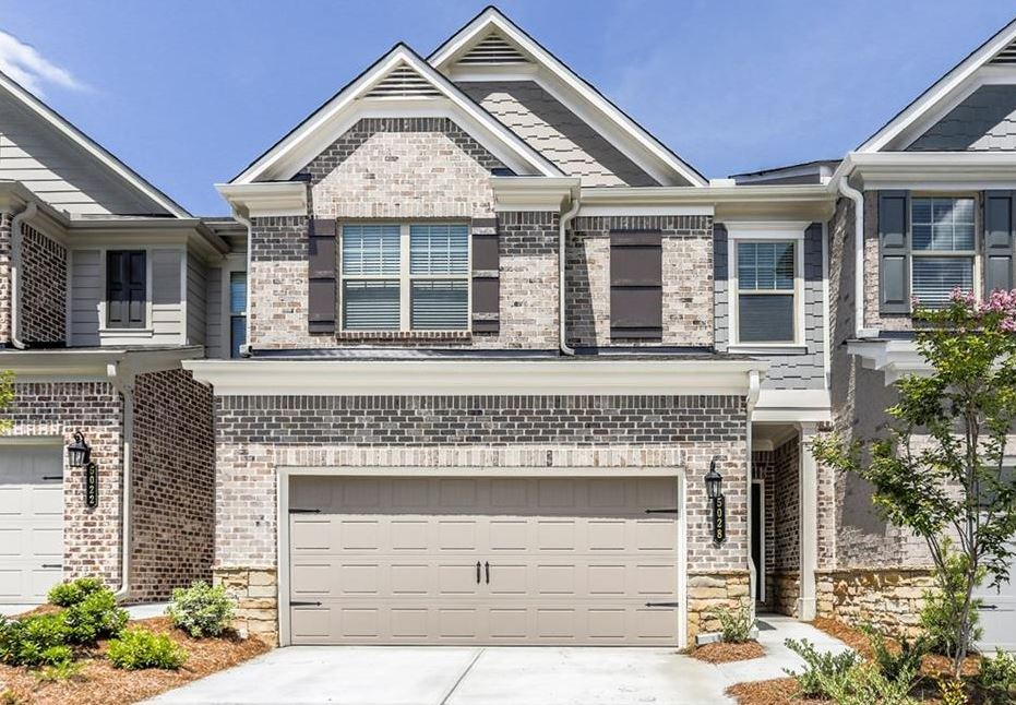 Johns creek townhomes in abbotts square north atlanta for Taylor made homes